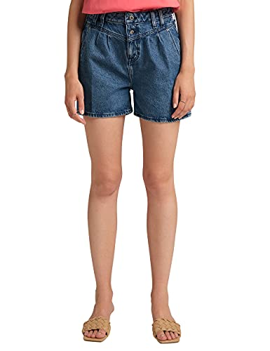 MUSTANG Damen Comfort Fit Relaxed Moms Shorts Jeans