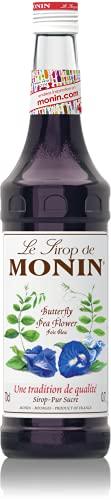Monin Butterfly Pea Flower Syrup In Glass Bottle, 700 ml