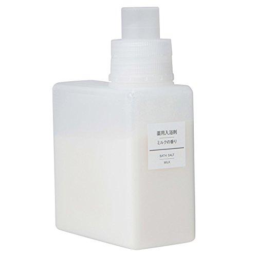 無印良品 薬用入浴剤・ミルクの香り (新)500g 日本製