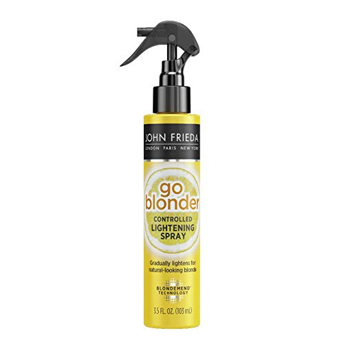 John Frieda Sheer Blonde Go Blonder Lightening Spray, 3.5 Ounce Controlled Hair Lightener with...