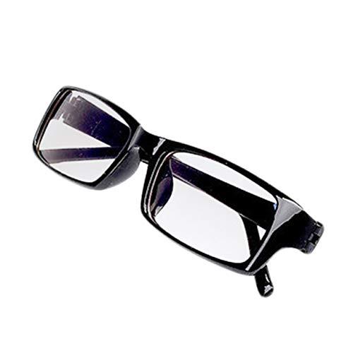 PC TV Gafas de protección para la tensión de los Ojos Gafas de protección para computadora de radiación de visión Gafas universales Gafas para Hombres Mujeres-Negro BCVBFGCXVB