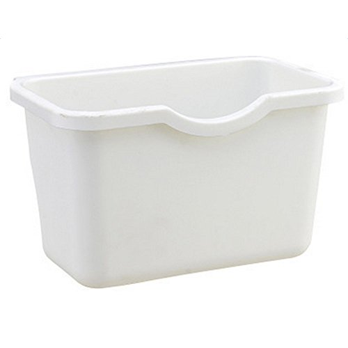 Leisial Basura Cocina Plástico Basura Recipiente