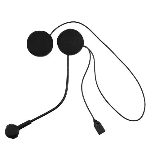 gostcai Auricolare Bluetooth Wireless per Casco da Motociclista, Auricolare Bluetooth Walkie Talkie, Cuffia Stereo HiFi con Microfono HD, 160 Ore di Standby Prolungato.