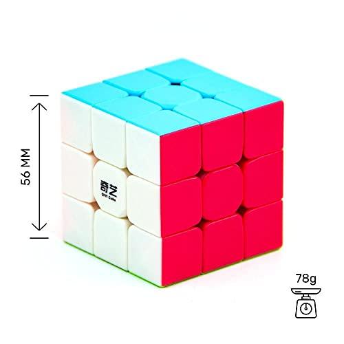 Cubelelo QiYi Warrior 3x3 Stickerless Magic Speed Cube 3x3x3 Puzzle 2