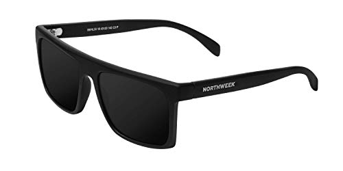NORTHWEEK Hale All Black Gafas, Negro, Adulto Unisex Adulto
