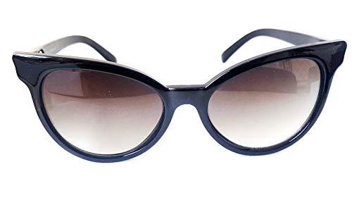 Gafas de sol LolКsom Cateye años 50 para vestido de enaguas estilo retro Negro S