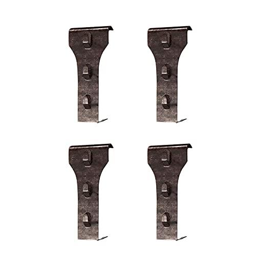 AUTOECHO Ganci per mattoni, in acciaio per tutte le condizioni atmosferiche, applicabili a ghirlande decorative