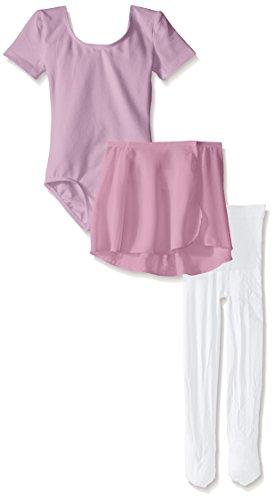 Danskin girls Dance Ballerina Starter Kit Tracksuit, Lavender Combo, 10-Aug US
