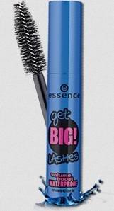 Essence Get Big! Lashes Volume boost Waterproof Mascara Farbe: Schwarz Inhalt: 12ml Wimpertusche für Volumen und besonders dichte Wimpern die nicht verlaufen bei Tränen oder Sport. Wimperntusche Mascara