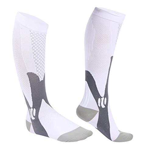 Baoblaze Kompressionsstrumpor stödstrumpor för kvinnor och män, kompressionsstrumpor löpstrumpor för sport resa löpning fitness klättring bergsklättring