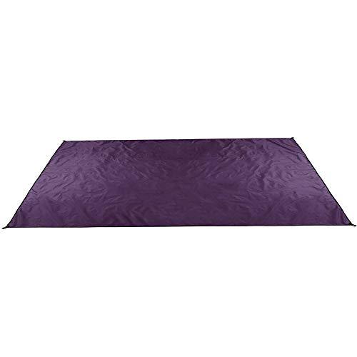 Manta De Picnic 210x300cm Tienda Anit-UV Parasol Toldo Camping Picnic Mat Pat A Prueba De Humedad (Size:210x300cm; Color:Purple)