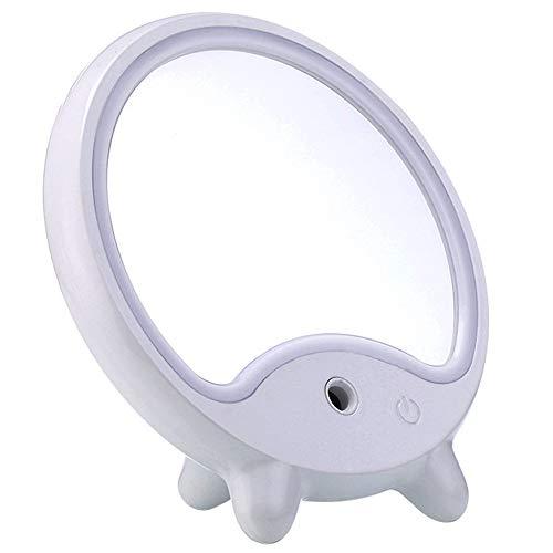 Beauty Skin Care Stoomreiniger, draagbaar, mini-huis, nano-luchtbevochtiger, ion-vochtverzorgende beauty-machine, met ledvulling, geschikt voor slaapkamer, kantoor, woonkamer