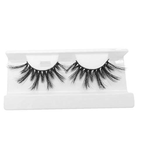 1pair Maquillage Beauté Cils Artificielle Cils Extension Cross Long Et Épais Souple Cils Bandes Pour Femme Style-002