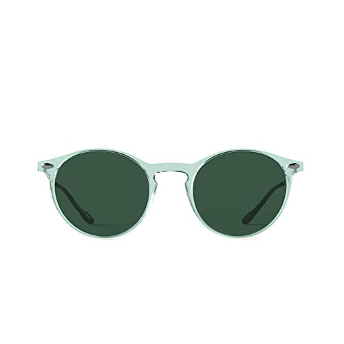 Sunglasses polarized for Men and Women - 100% UV protection - Light Green Color - with Compact Case - CRUZ Collection