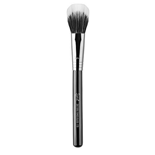 Sigma Beauty - F15 Duo Fibre Powder/Brush / Brocha fibra dúo para polvos/colorete