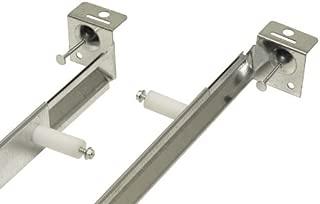 Broan-NuTone QTHB1 Hanger Bar Set for QT Series Bath Exhaust Fans, 2-Piece, Silver