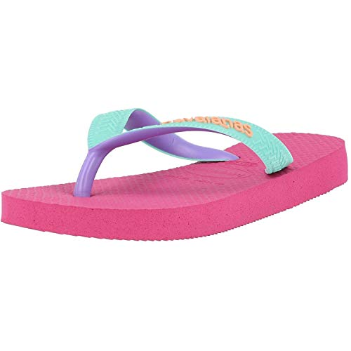 Havaianas Unisex-Kinder Top Mix Zehentrenner, Pink (Hollywood Rose 0064), 27/28 EU