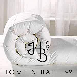 Home and Bath Co.Luxurious 100% Soft Silky Microfibre Feels Like Down Duvet Quilt All UK Sizes Anti Allergy 13.5 Tog from Home and Bath Co.