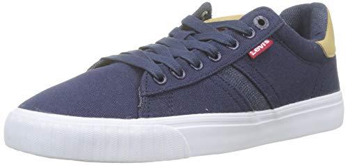 LEVIS FOOTWEAR AND ACCESSORIES Skinner, Zapatillas para Hombre, Azul (Navy Blue 17), 43 EU