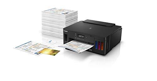 Canon PIXMA G5020 Wireless MegaTank Single Function SuperTank Printer | Mobile & Auto 2-Sided Printing Photo #4