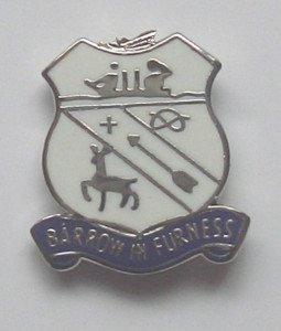 Furness-In-Carriola, Lapel Pin Badge