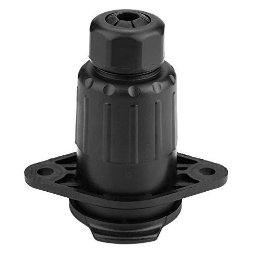 Aanhanger-stopcontact, 24 V, 7-polige stekkerdoos, adapter voor het wegslepen van auto-zadelopleggers, vrachtwagencaravans, alleen voor Europese voertuigen