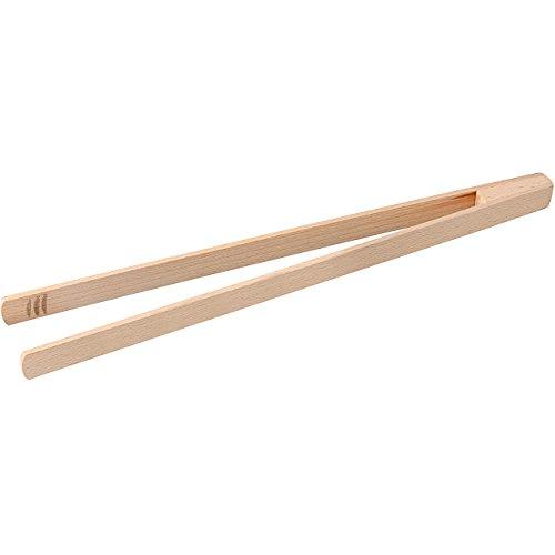 FACKELMANN Holzzange Fair 45cm aus Buche, Holz, beige, 45 x 2.7 x 6 cm