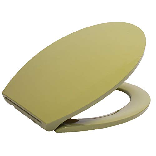 Primaster Toilettendeckel moosgrün Absenkautomatik Duroplast Toilettensitz