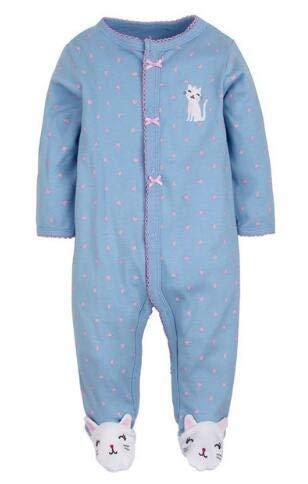 YBINGA Pijama de bebé recién nacido de algodón de unicornio para niños,...