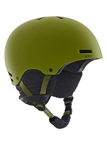 Anon Herren Raider Snowboardhelm, Green, XL