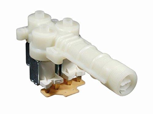 Magnetventil, Ventil 3-fach, 90°, 10mm angeflanscht passend für AEG Electrolux Nr.: 899645238280