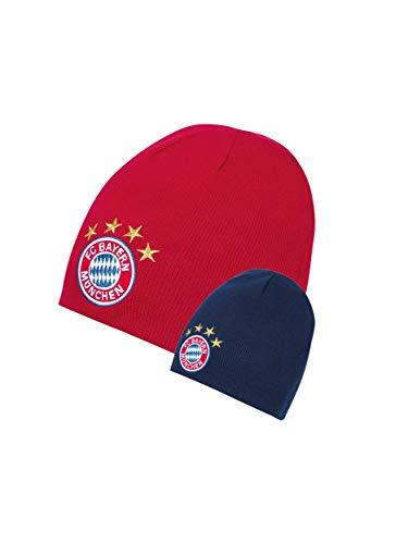 FC Bayern München Kinder Wende-Beanie Logo