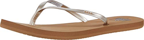 Reef Women's Bliss Nights Sandals, Tan/Champagne, 9