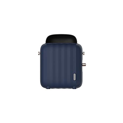 Great Features Of Alician Luggage Case Shape Fan Heater Home Office Mini Desktop Warmer Machine Blue...