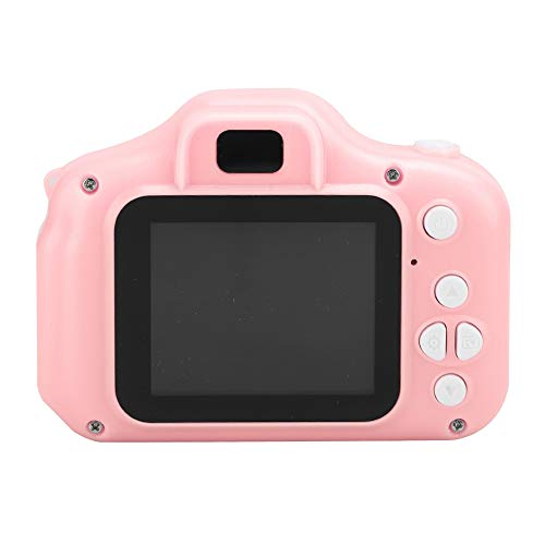 Bewinner1 Kid Digital Video Camera,Mini Cute Children Cameras,Portable Kid Camera Toy with 2.0inTFT Color Eye-Friendly and Clear Screen,Smart Camera for Boys Girls' Birthday Gifts (Pink)