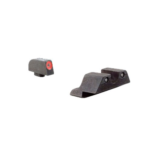Trijicon HD Night Sight Set with Orange Front Outline for the Glock 42/43
