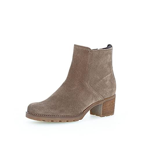 Gabor Damen Klassische Stiefeletten, Frauen Kurzstiefel,Moderate Mehrweite (G),halbstiefel,Kurzstiefel,Mohair (Flausch),42 EU / 8 UK