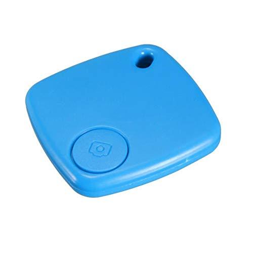 Junww Bluetooth 4.0 Anti Verlorene Warnung Keychain Kamera-Fernauslöser for Telefon Locator Sicherheit (Farbe : Blue)
