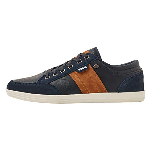 British Knights Herren KUNZO Sneaker, Blau (Navy/Cognac 03), 41 EU