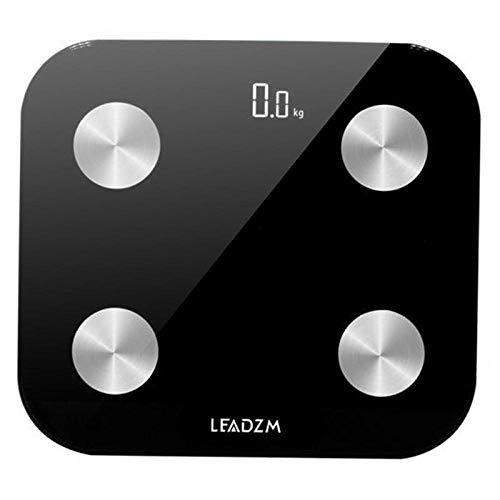 Practical Home Black Bluetooth Báscula pesaje digital