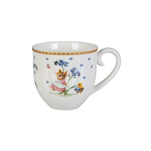 Villeroy & Boch Annual Easter Edition Jahresbecher 2020, Kaffeebecher für gemütliche Momente, Premium Porzellan, bunt, 460 ml, 13,5x9,5, Becher