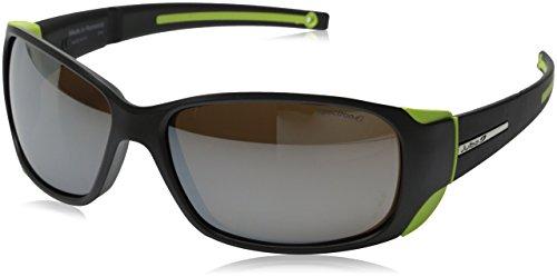 Julbo MonteBianco Mountain Sunglasses, Spectron 4 Lens, Matt Black/Lime