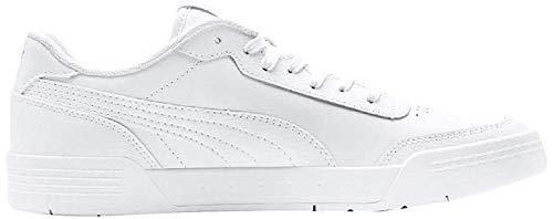 Puma Unisex-Erwachsene Caracal Fußballschuhe, Weiß White Silver, 43 EU