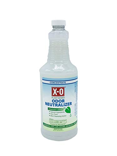 X-O Odor Neutralizer Mild Cleaner Concentrated (32oz, 1gallon, 5gallons) - All-Natural Odor Neutralizer Deodorizer. Concentrate, 32-Ounce