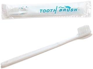 使い捨て 粉付き歯ブラシ x10本