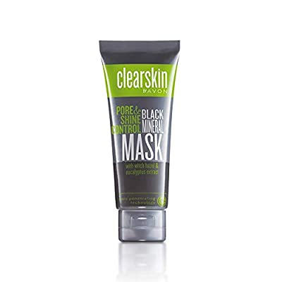 Avon Clearskin Pore Penetrating Black Mineral Mask 75 ml from Avon