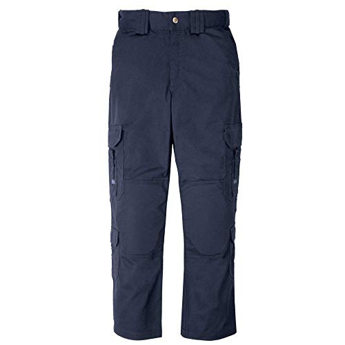 5.11 Tactical EMT EMS Professional Work Pants, UPF 50 Fabric, Adjustable Waistband, Style 74310, Dark Navy36Wx32L