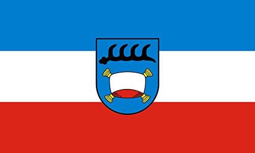 Unbekannt magFlags Tisch-Fahne/Tisch-Flagge: Pfullingen 15x25cm inkl. Tisch-Ständer