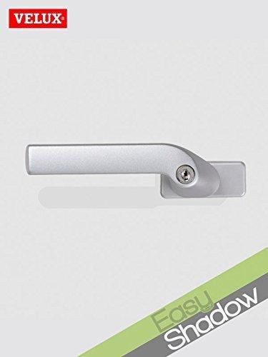 Original Velux Griff mit Sicherheitsverschluß 028401 - Sicherheits-Verschluss für VELUX Klapp-Schwing-Fenster ab Baujahr 2000 - für GDL, GHL, GPL, GEL, GXL