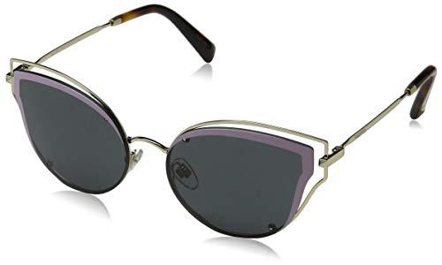 Valentino dames 0VA2015 300387 58 zonnebril, licht goud/rook